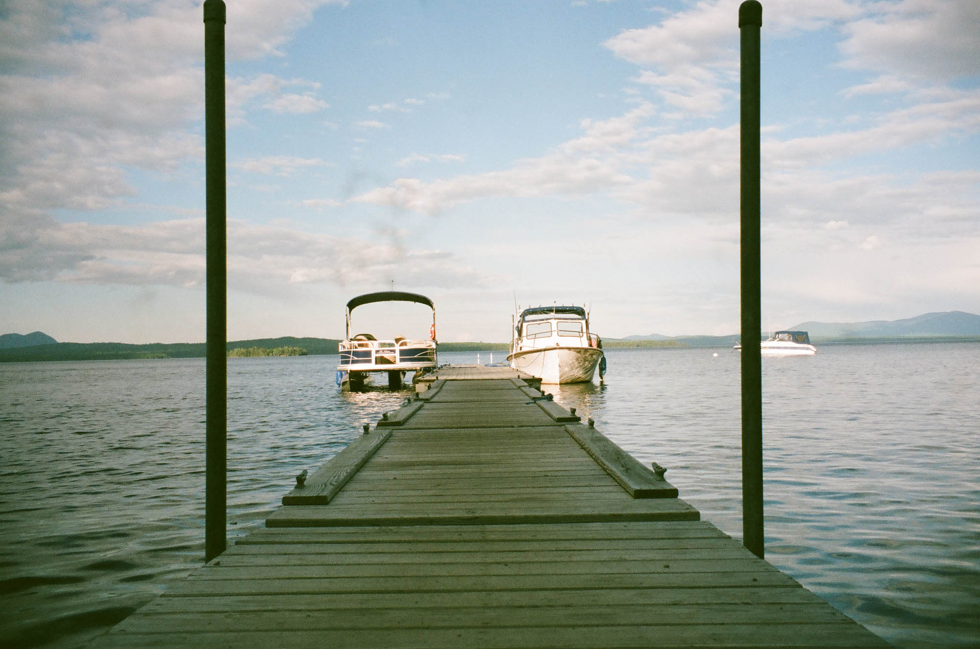 Minolta XG-M shot at 400 of boat docks